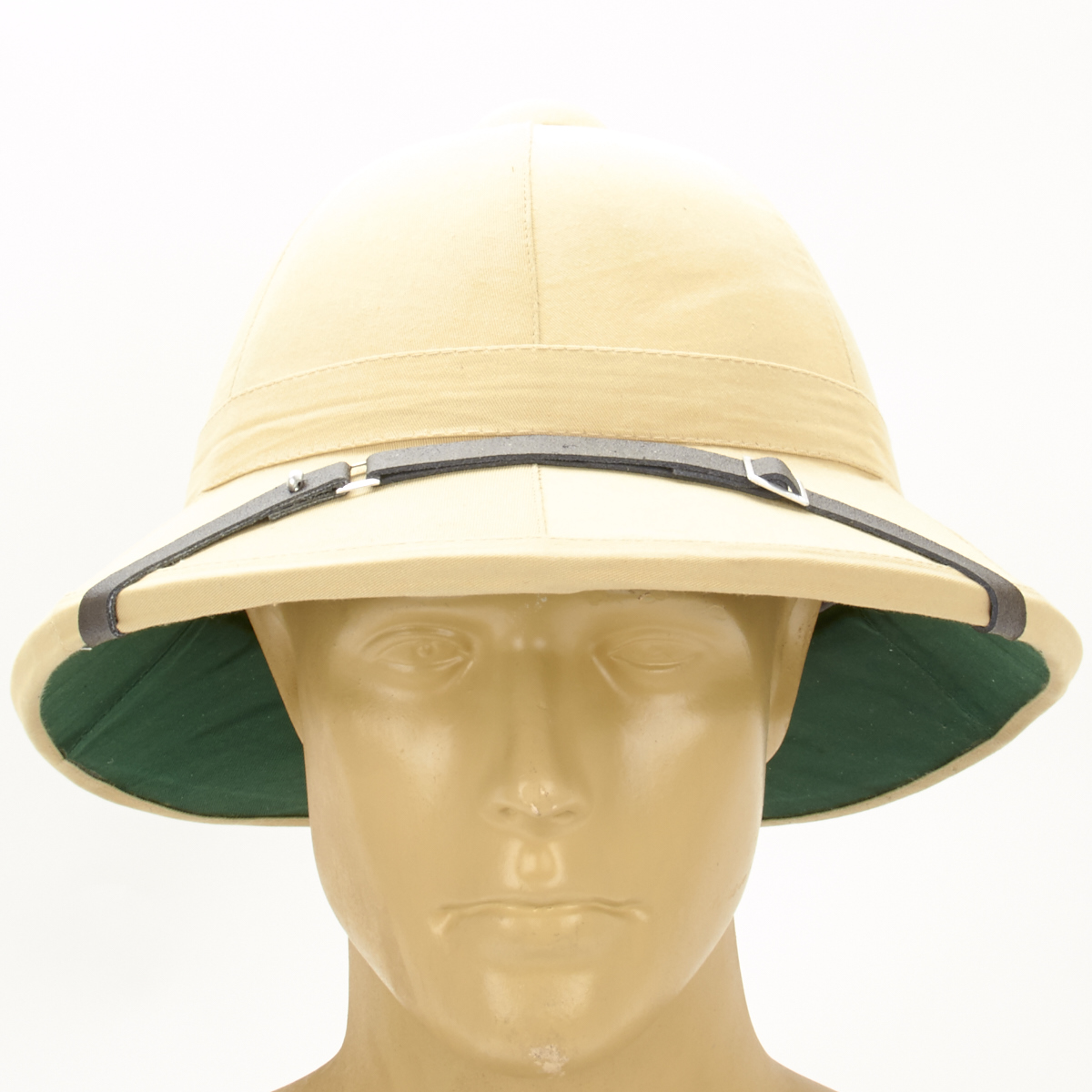 cc216807985ab British WWI Wolseley Pattern Khaki Pith Helmet