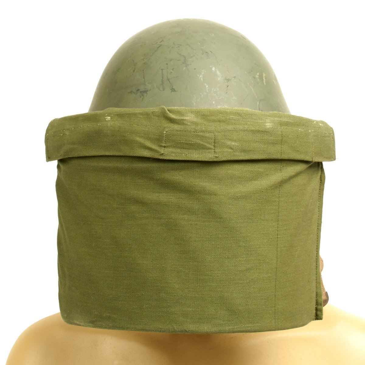 Cover Only Original British Cloth Visor Cover for P-1944 Turtle Riot Helmet