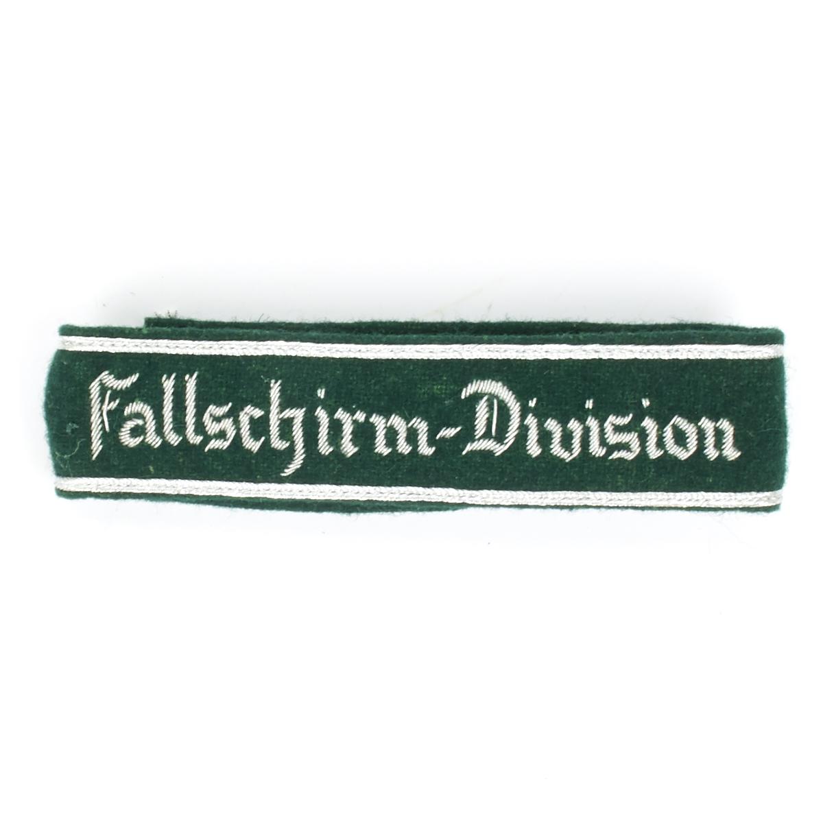 German WWII Military Wool Uniform Cuff Title Fallschirm-Jager Rgt 3