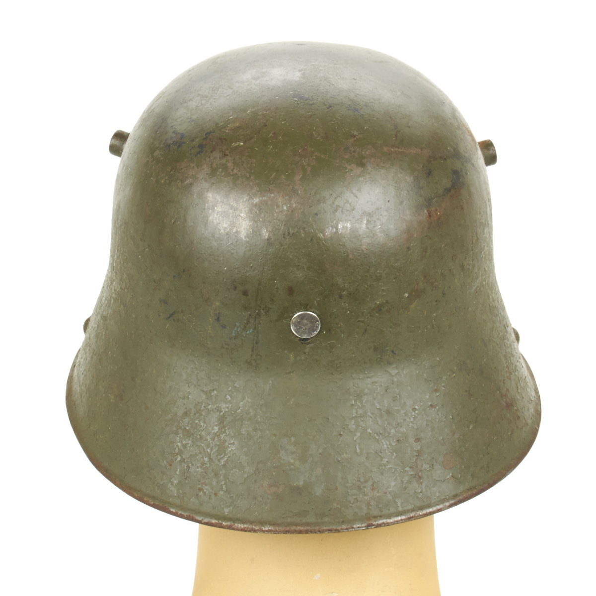 Details about Original Imperial German WWI M16 Stahlhelm Helmet with  Markings- Shell Size 64