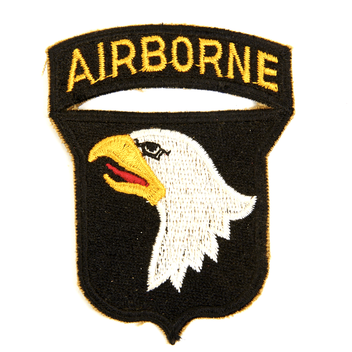 Details about U S  WWII 101st Airborne Division Shoulder Patch - Screaming  Eagles
