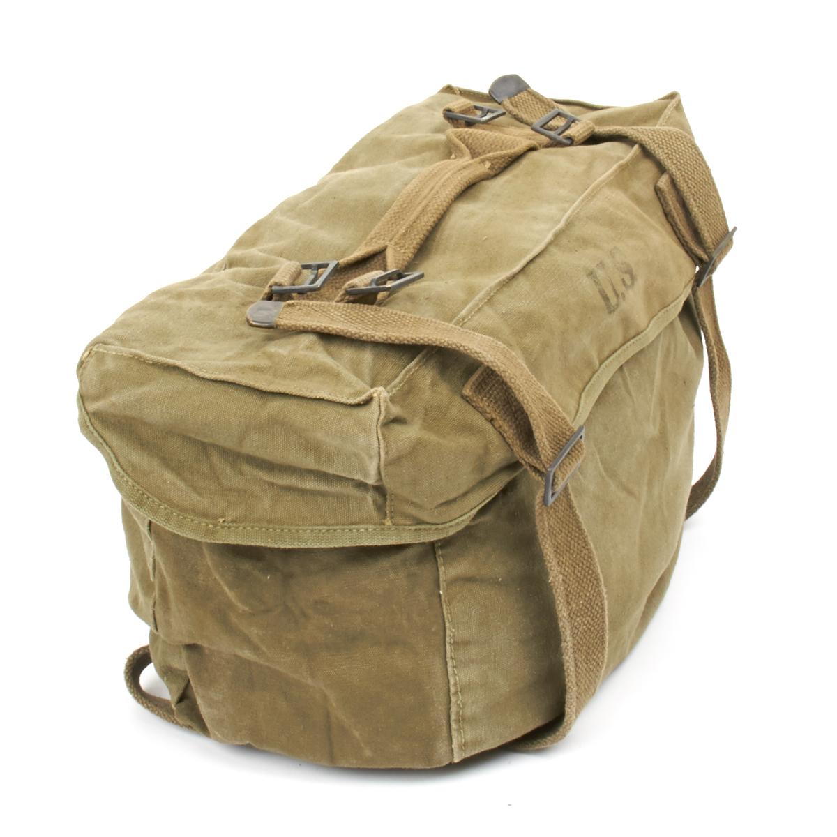 original u s wwii m 1945 cargo field pack lower bag. Black Bedroom Furniture Sets. Home Design Ideas