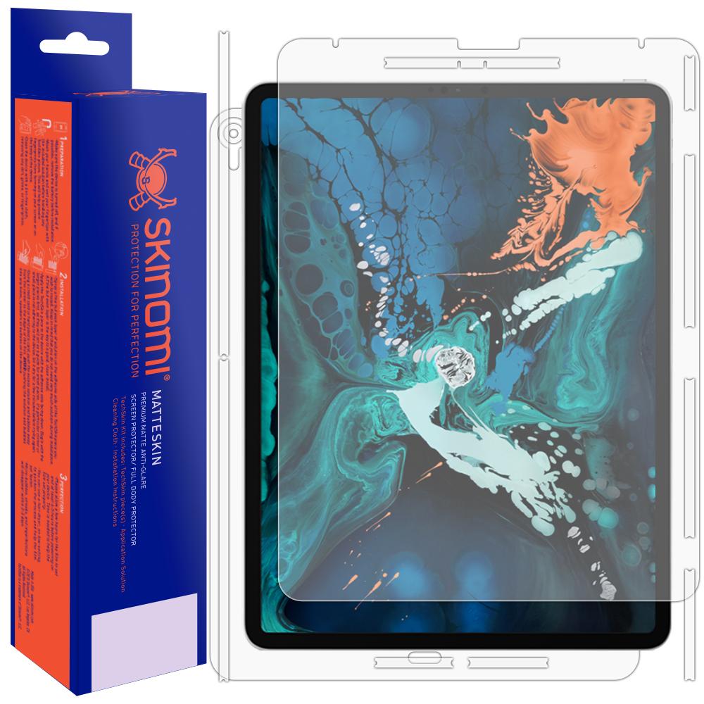 Skinomi MatteSkin Anti-Glare Full Body Skin Protector for iPad Pro 11 2018