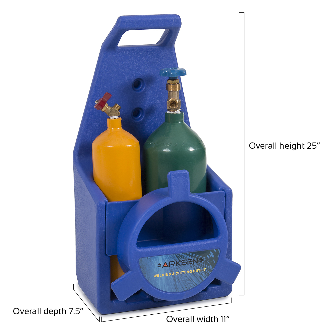 Portable Type Welding & Cutting Torch Start Kit Oxygen