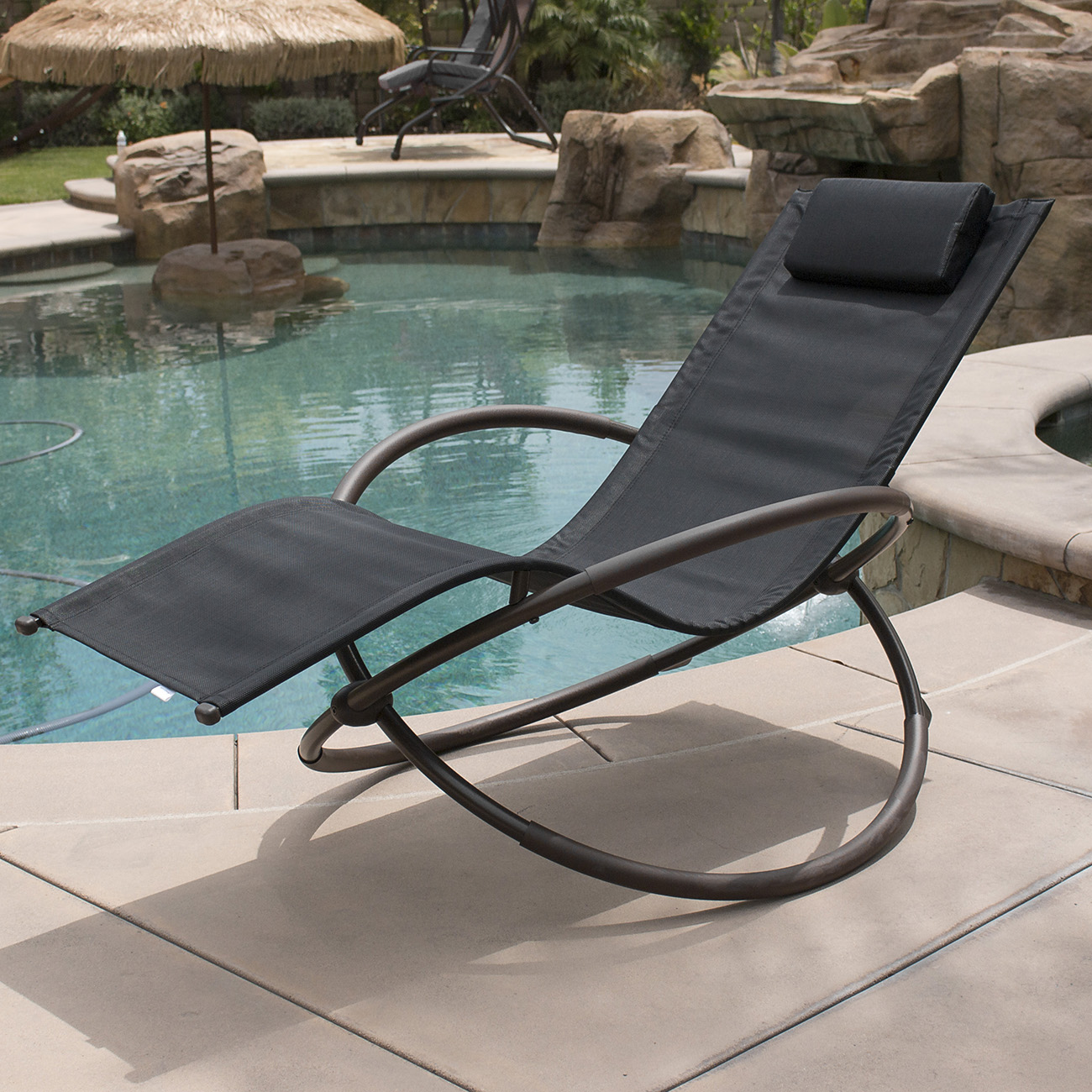 Folding patio lounge chairs - 7 Color Orbital Zero Anti Gravity Lounge Chair