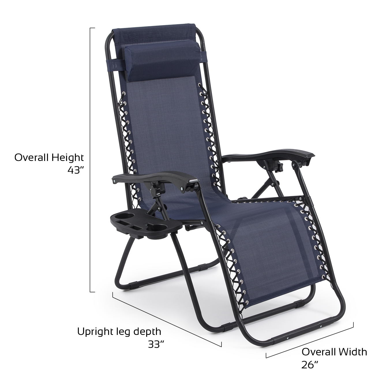 Patio gravity chair - 2 Folding Zero Gravity Reclining Lounge Chairs Utility