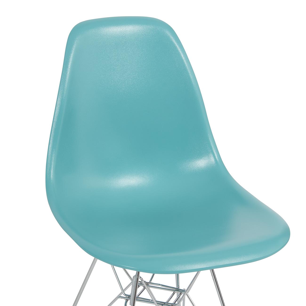 2x Style DSW Modern Eiffel Side Chair Molded