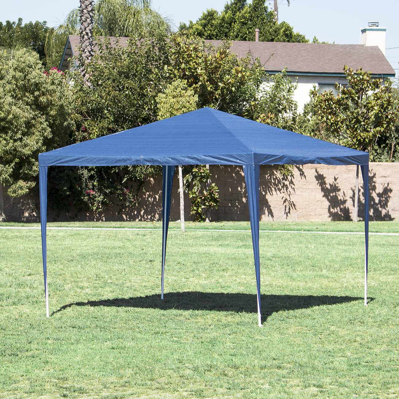 Superieur Gazebo Canopy Wedding Party Tent Blue Pop Up Portable Shade 10x10 Parties  Shade