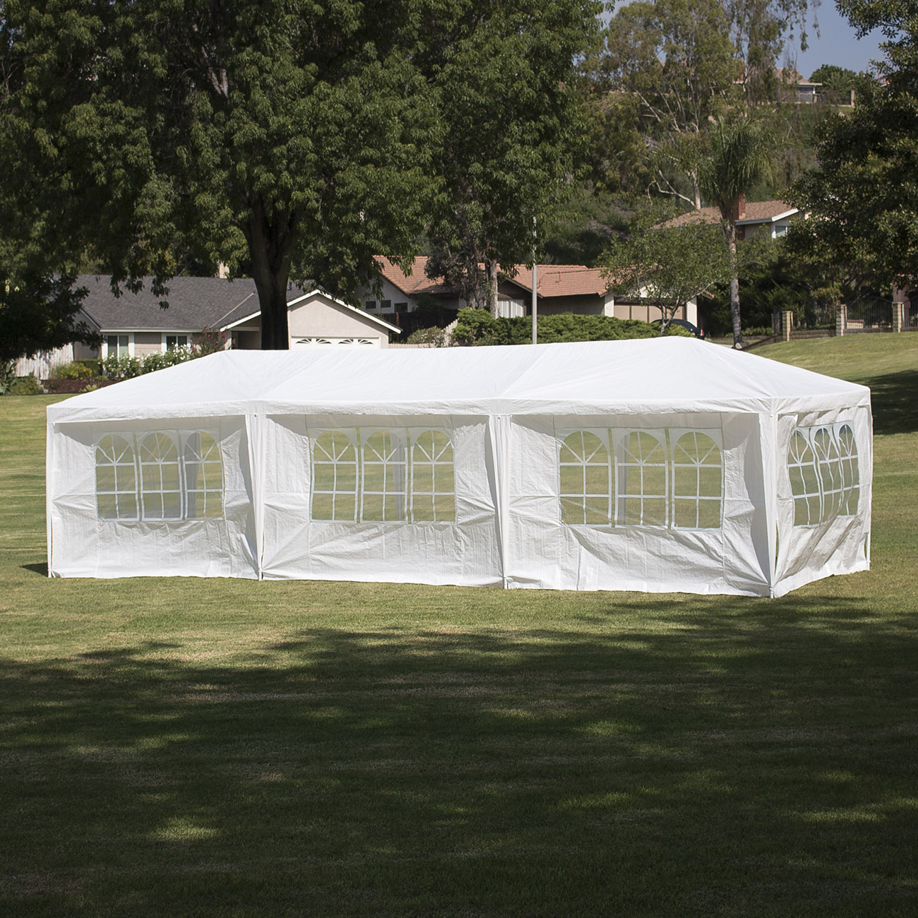 10u0027x30u0027Canopy Party Wedding Outdoor Tent Gazebo Pavilion Cater Events w/ 5 Walls & 10u0027x30u0027Canopy Party Wedding Outdoor Tent Gazebo Pavilion Cater ...