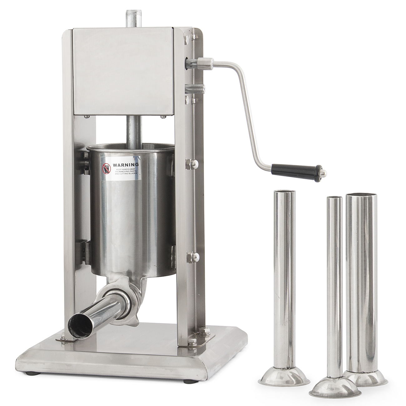 3l stainless steel 8lb commercial restaurant sausage stuffer press picture 1 of 8 sciox Images