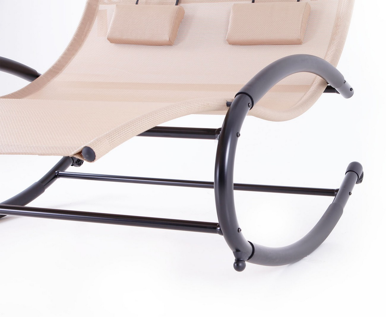 Patio Double Chaise Swing Rocker W Canopy Pool Outdoor