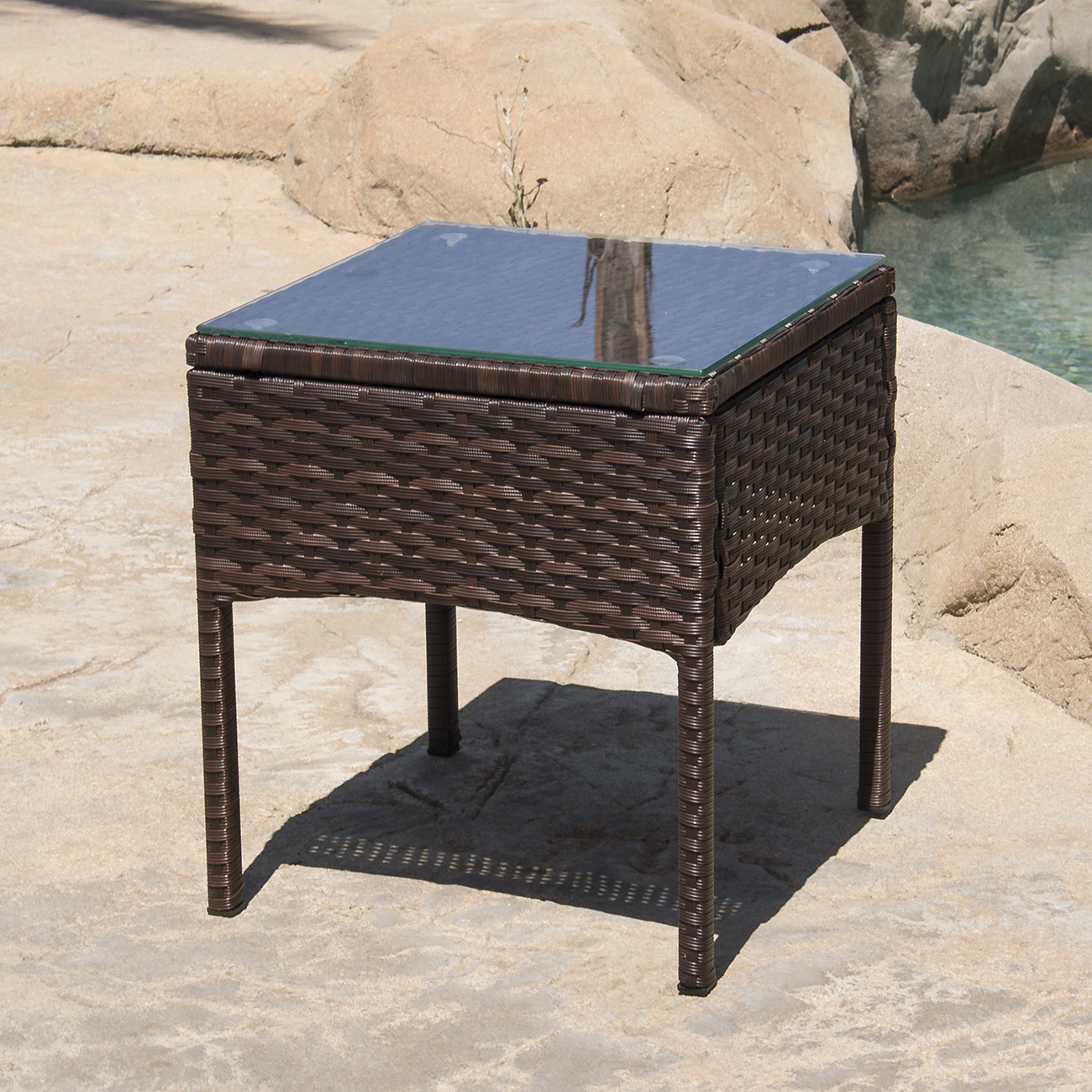 3-PCS-Outdoor-Rattan-Wicker-Patio-Chat-Chairs-amp-Table-Furniture-Set-Lounge thumbnail 4