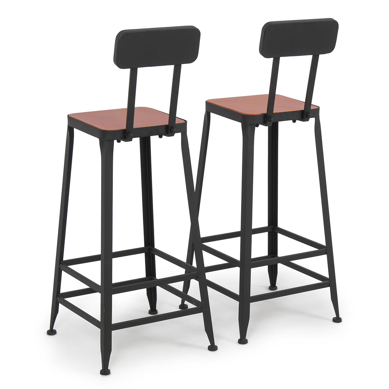 Industrial Bar Stools Barstools Wood Counter Top Height