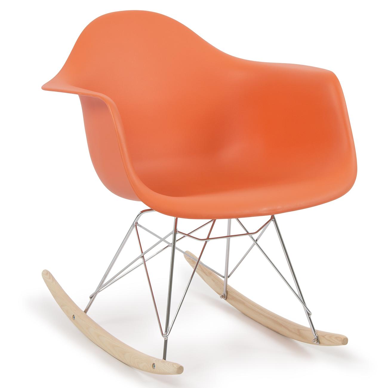 Retro dsw style modern arm chair rar rocker rocking chairs for Rocking chair dsw