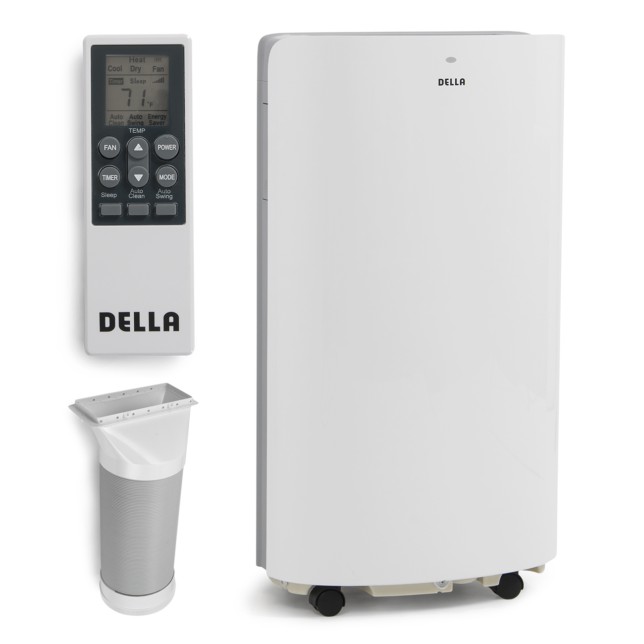 Delonghi portable air conditioner and heater - 14 000 Btu Portable Air Conditioner And Heater Function Led With Remote Control