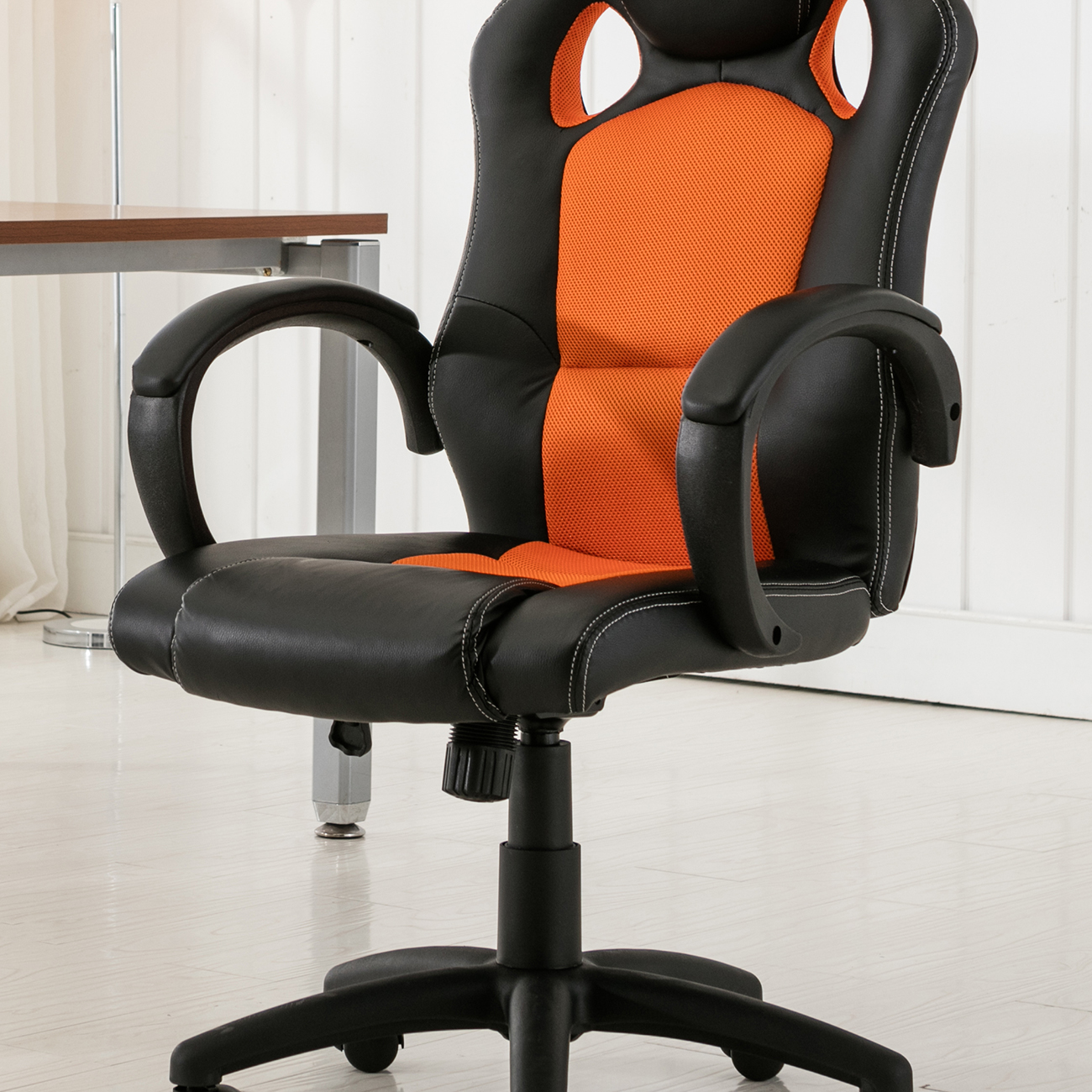 High Back Race Car Style Bucket Seat Office Desk Chair