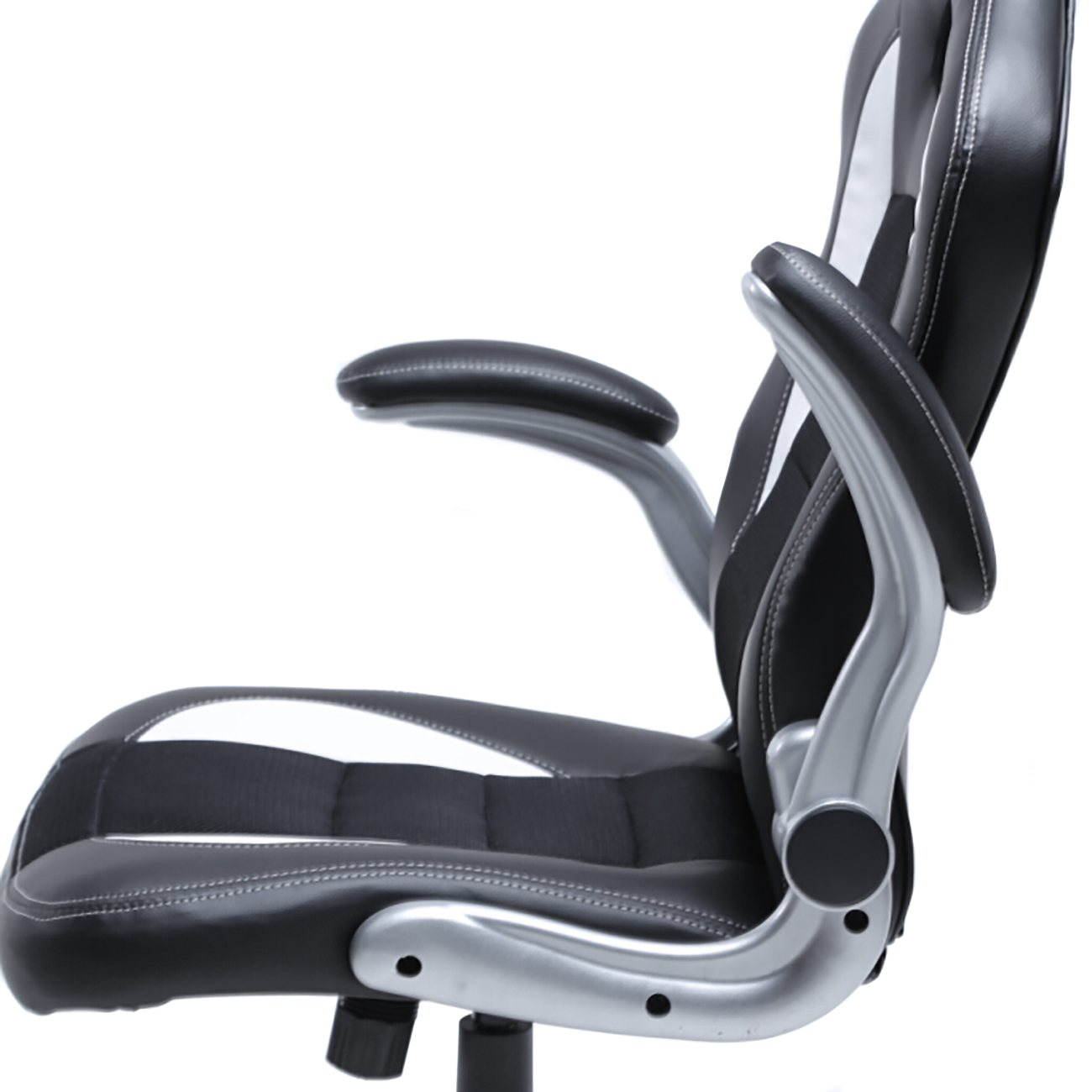Office Chair Armrest Office-Racing-Chair-Bucket-Seat-High-Back-Ergonomic-