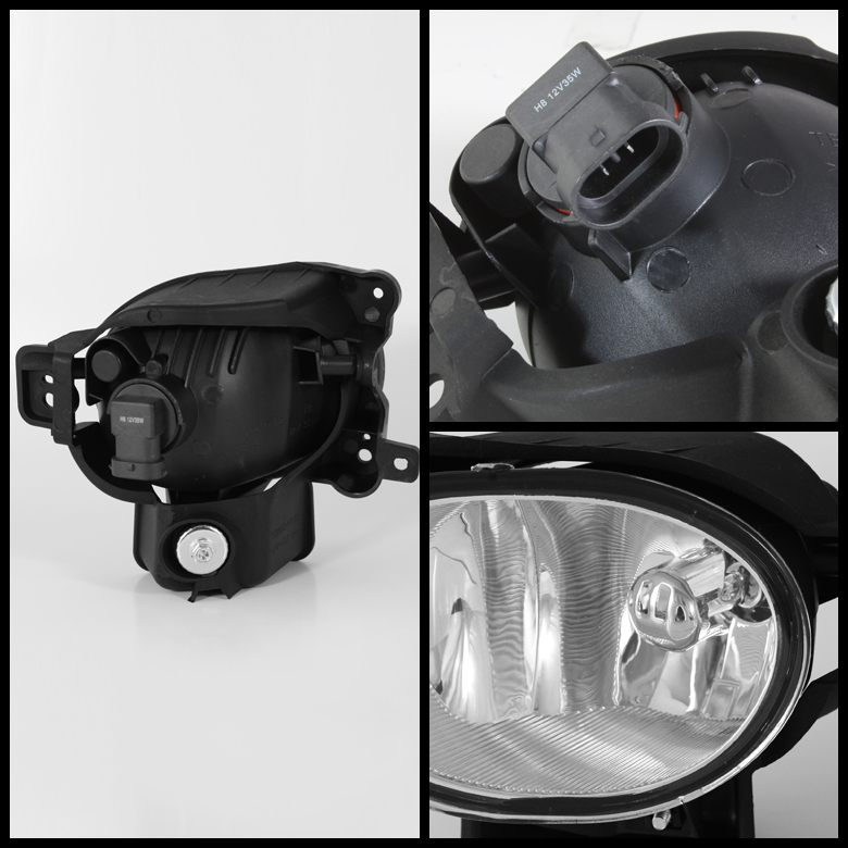 2007-2008 Acura TL Factory Style Replacement Fog Lights