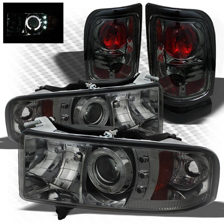 01 Dodge RAM 1500 Tail Lights