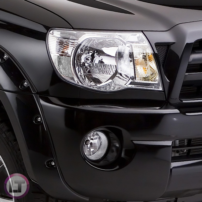 05 11 Toyota Tacoma Pickup All Clear Crystal Headlights Replacement Left Right