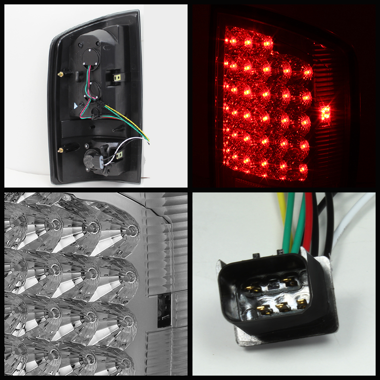 Se adapta a 02-05 Ram 1500/03-05 2500/3500 Cromo LED Luces ... on