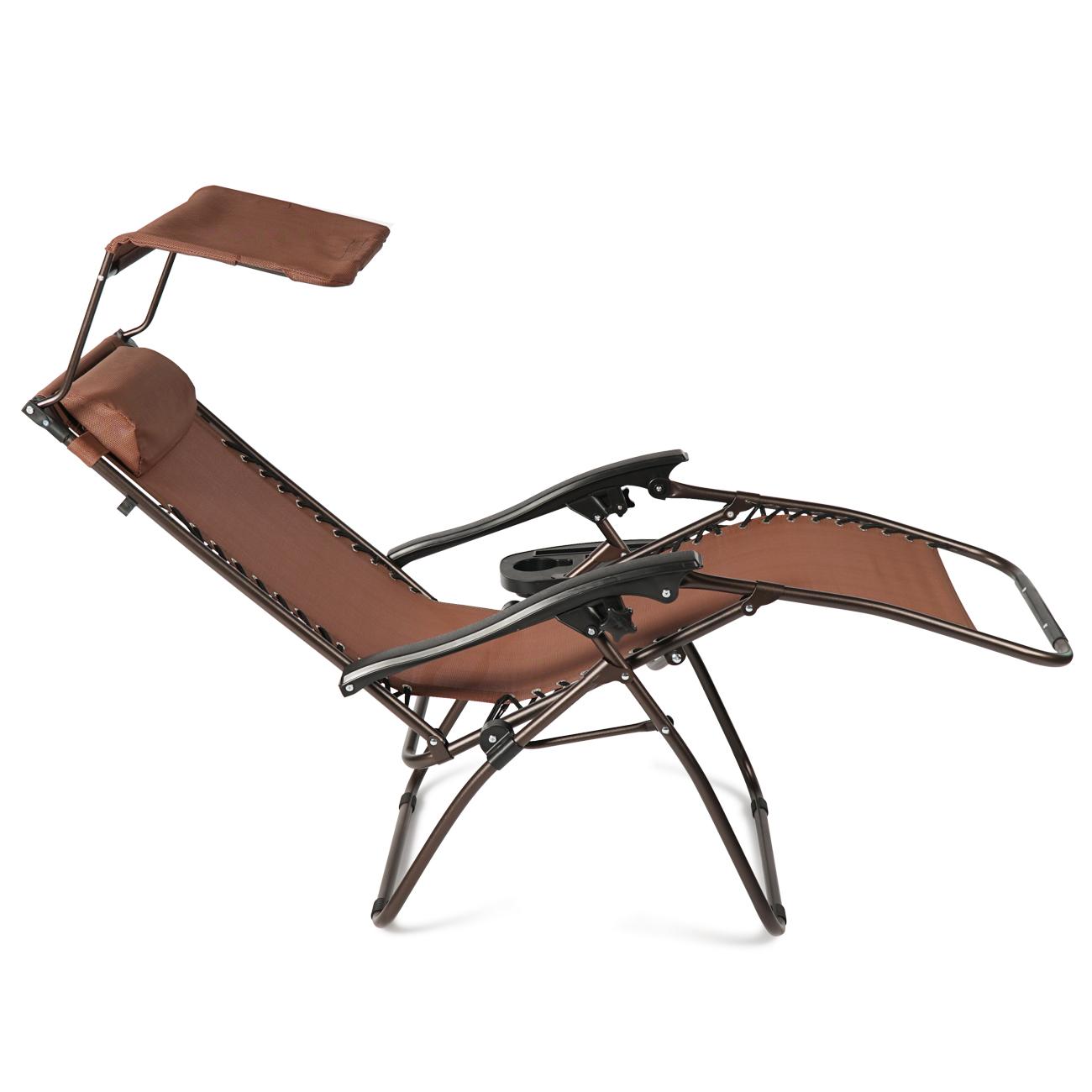 NEW Zero Gravity Folding Lounge Beach Chairs W
