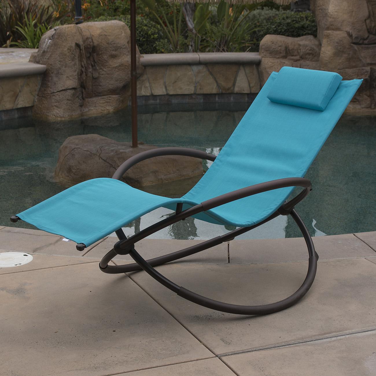 Orbital Folding Zero Gravity Lounge Chairs Outdoor Beach