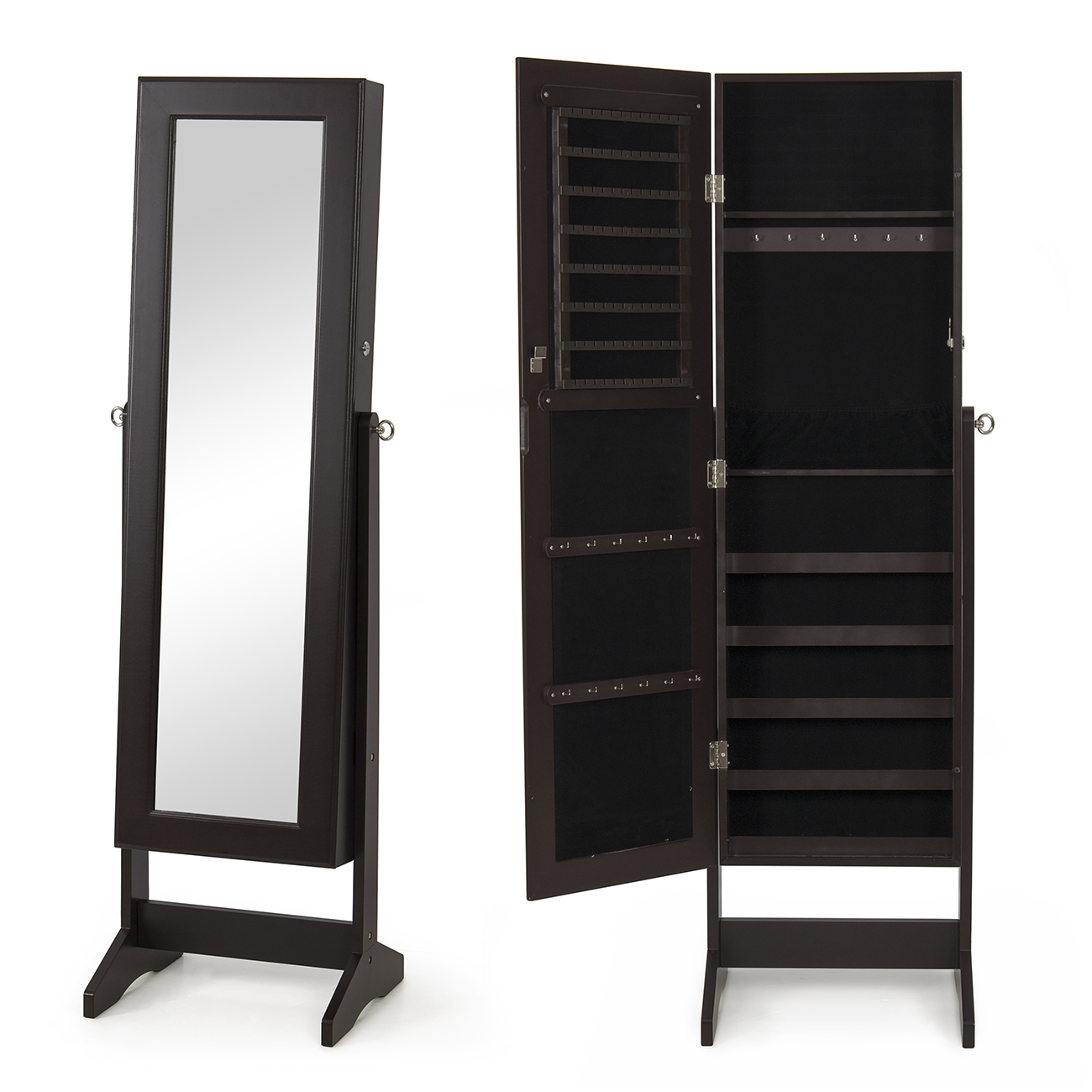 mirrored jewelry cabinet new mirrored jewelry cabinet mirror organizer armoire 23407