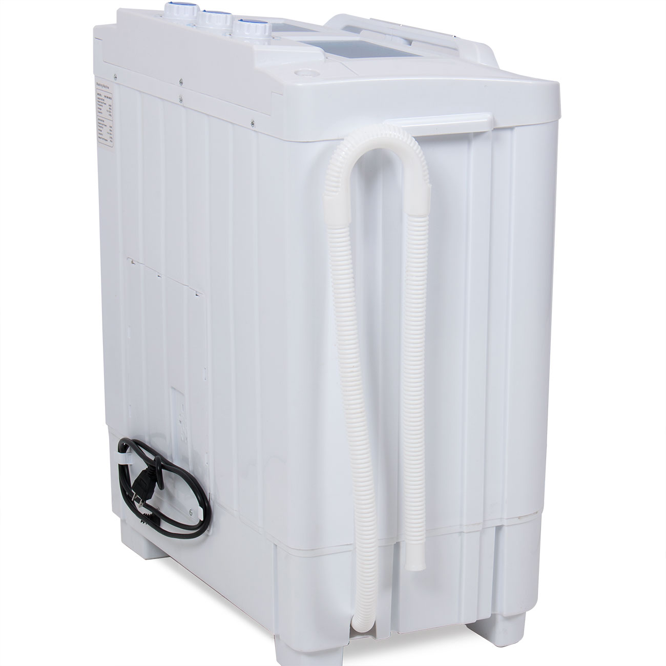 portable washing machine compact wash spin dry cycle laundry with built in pump ebay. Black Bedroom Furniture Sets. Home Design Ideas