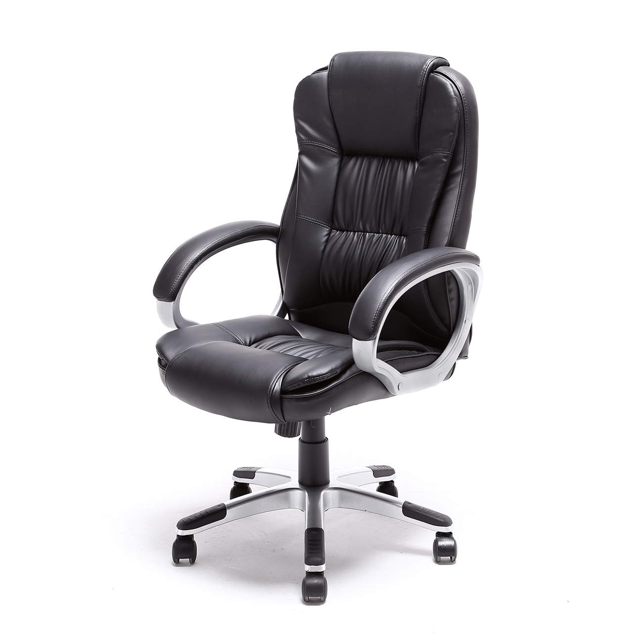 Wondrous Details About Desk Chair Computer Task Office Black Executive High Back Pu Leather Modern New Pdpeps Interior Chair Design Pdpepsorg