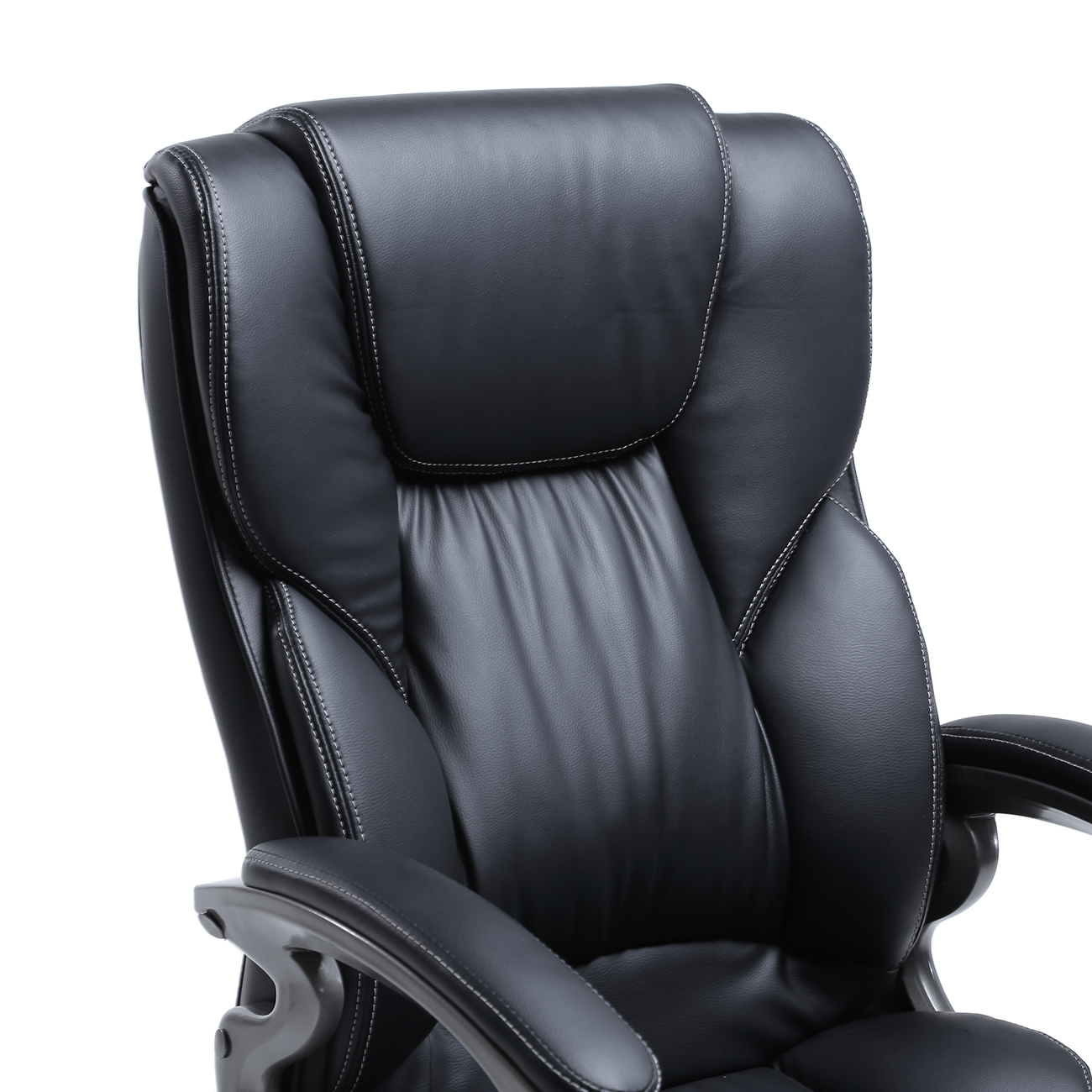 High-Back-PU-Leather-Executive-Ergonomic-Office-Chair-  sc 1 st  eBay & High Back PU Leather Executive Ergonomic Office Chair Desk Task ...