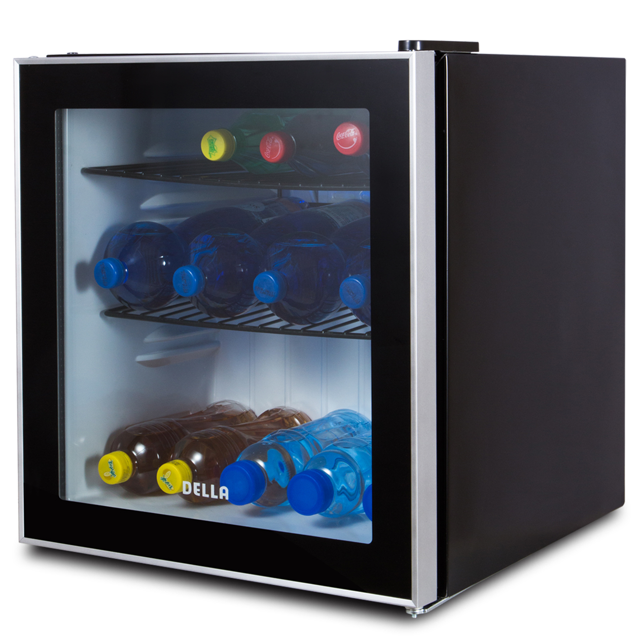 Beverage Refrigerator Mini Wine Fridge Soda Beer Drinks Bar Cooler