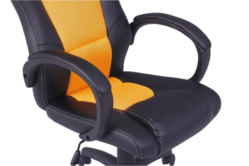 Office Chair Ergonomic Computer Mesh PU Leather Desk Seat
