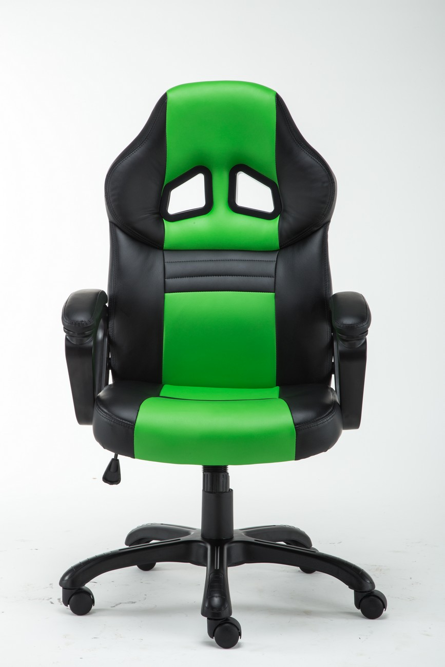 Excellent Details About High Back Racing Style Bucket Seat Gaming Chair Swivel Office Desk Pu Leather Bralicious Painted Fabric Chair Ideas Braliciousco