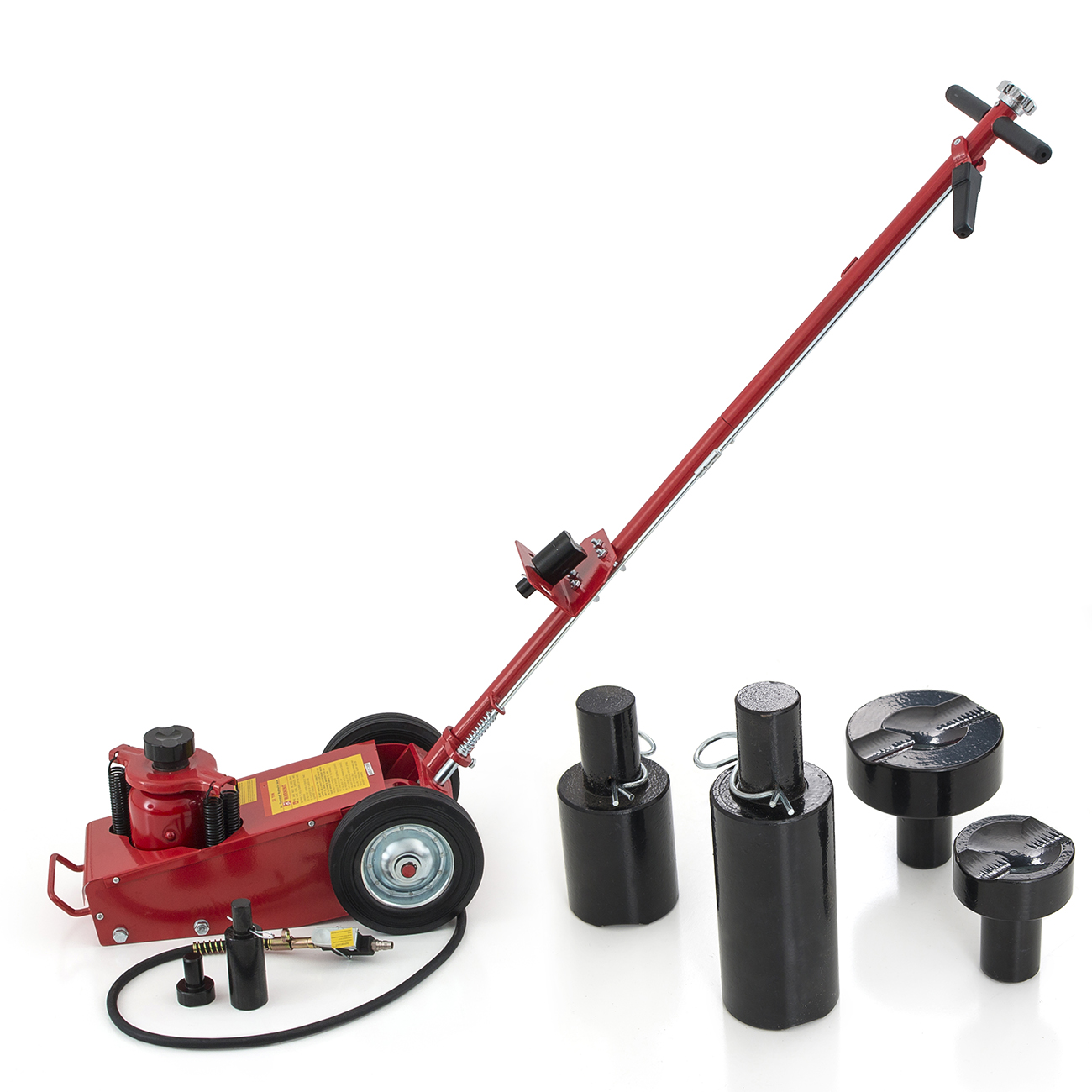 Hydraulic Air Floor Axle Bottle Jack W Wheels 22 Ton Lift Truck Bus Parts Diagram Commercial