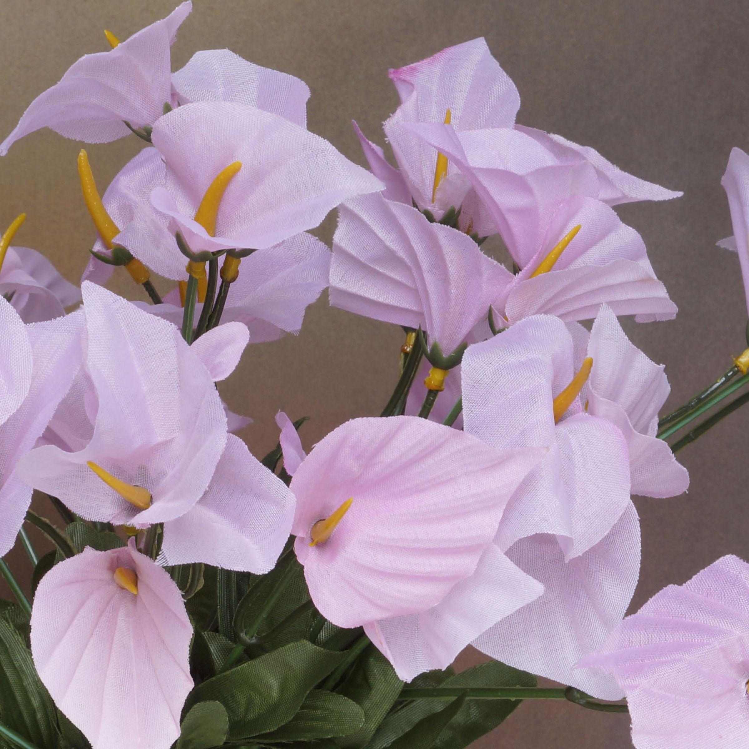 504 MINI Silk CALLA Lilies Flowers for Wedding Bouquets Centerpieces ...