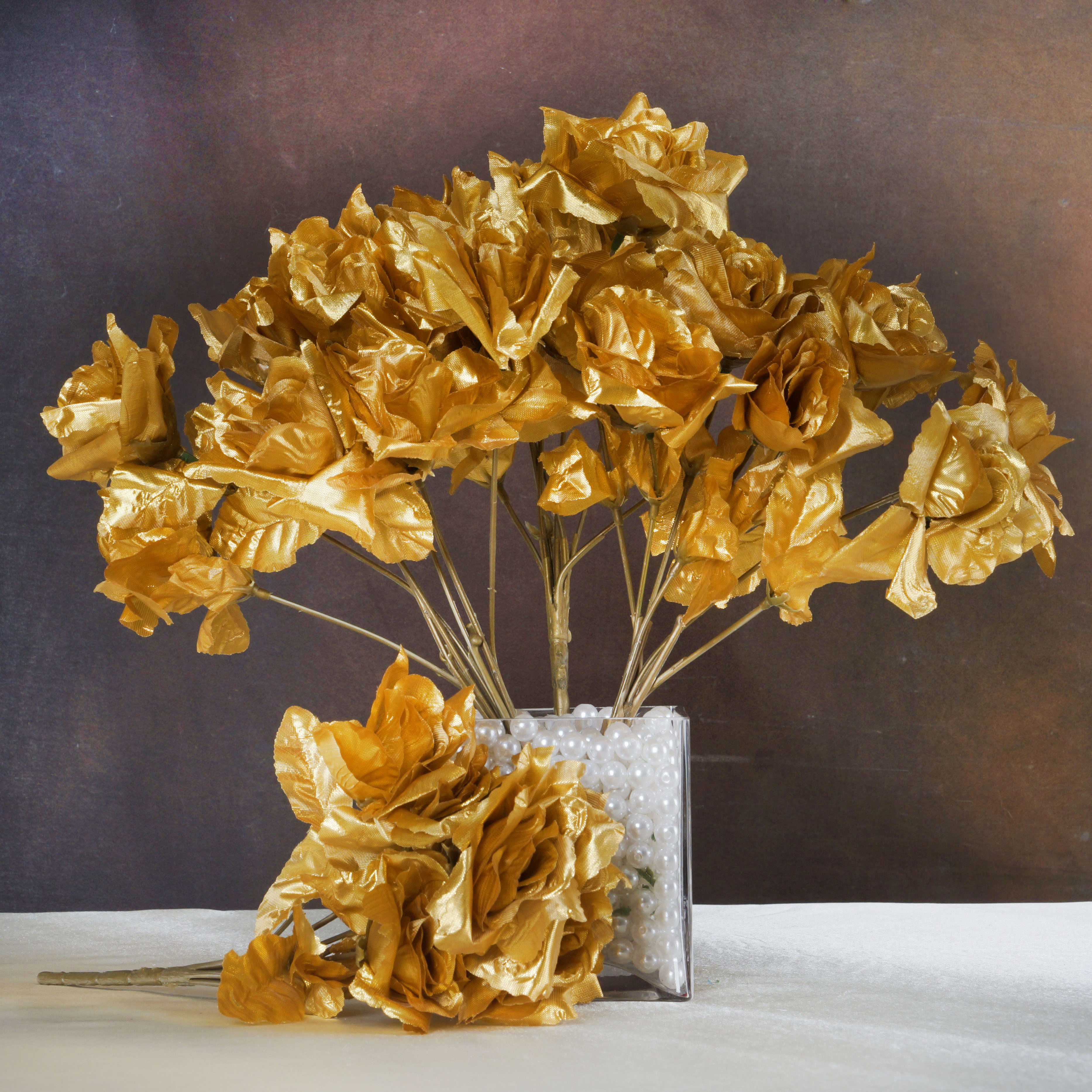 Gold Silk Flowers Wholesale Images - Flower Decoration Ideas
