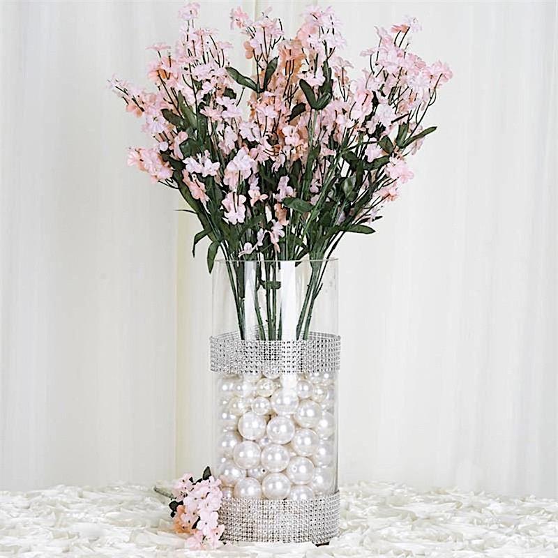 36 bushes BABY BREATH Silk FILLER FLOWERS for Wedding Centerpieces ...