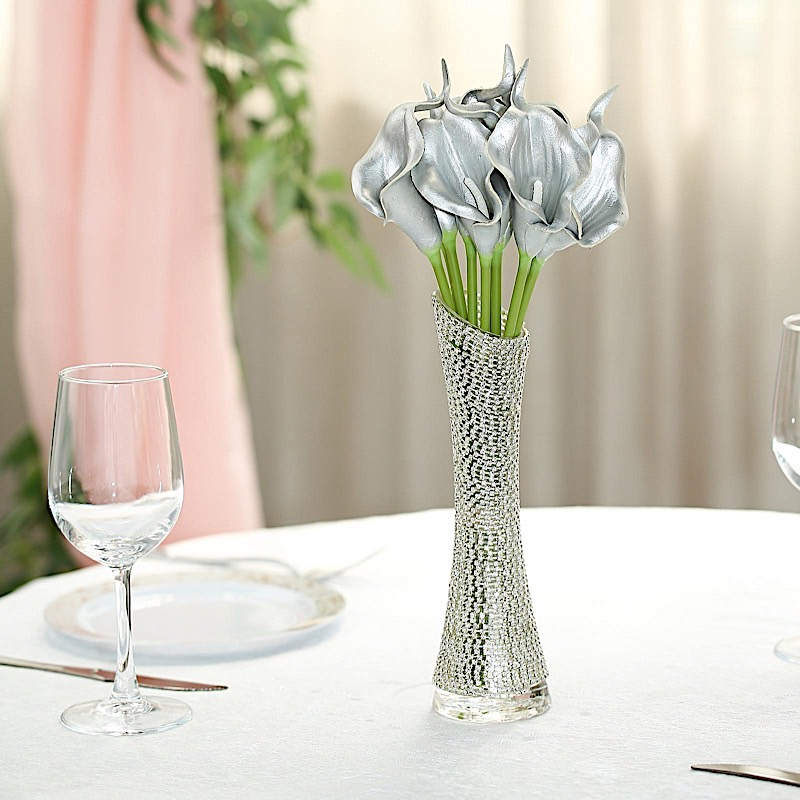 14 inches tall Poly Foam Calla Lily Flowers Single Stems Party Centerpieces Sale