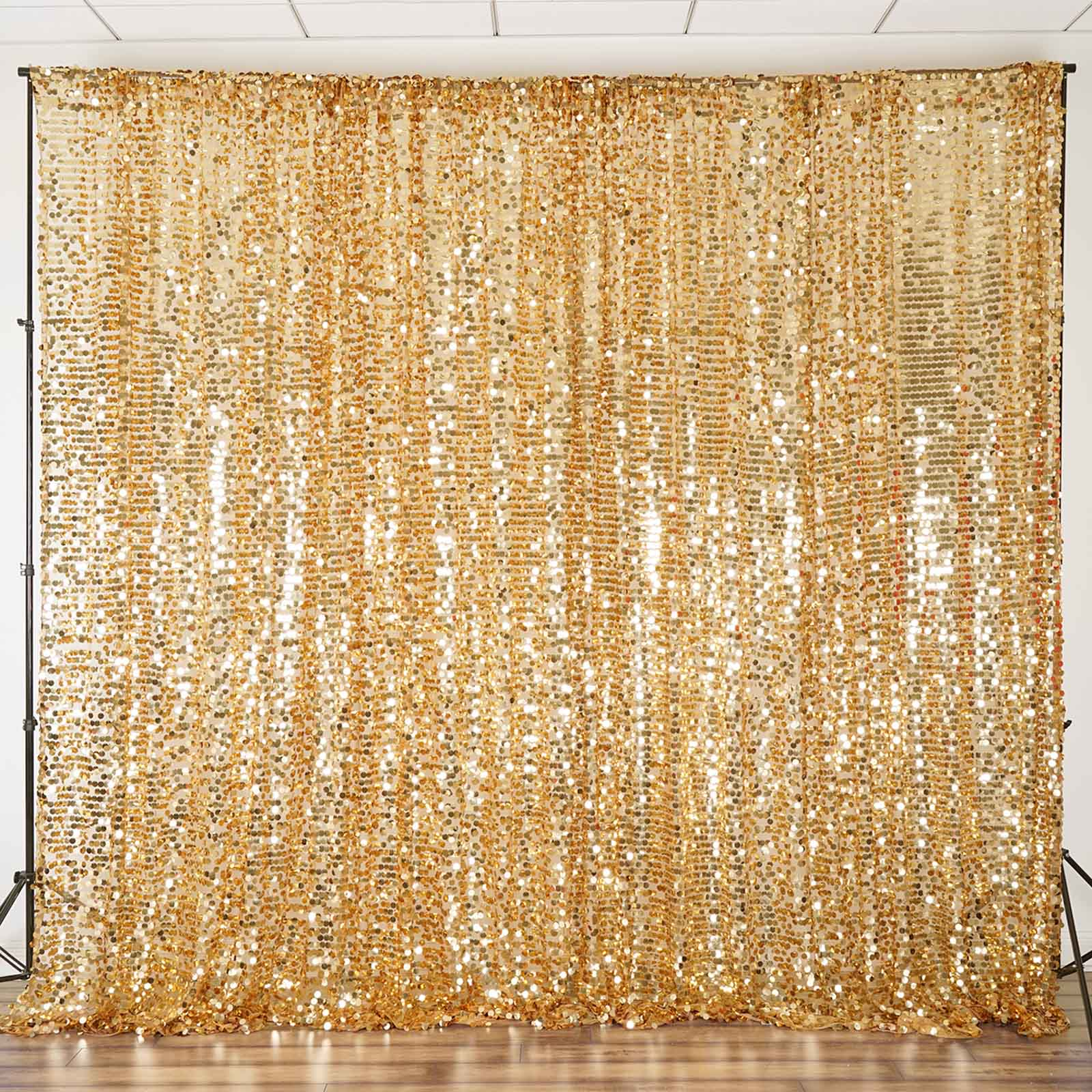 Big Payette Sequin Backdrop 20ft X 10ft Curtain Background