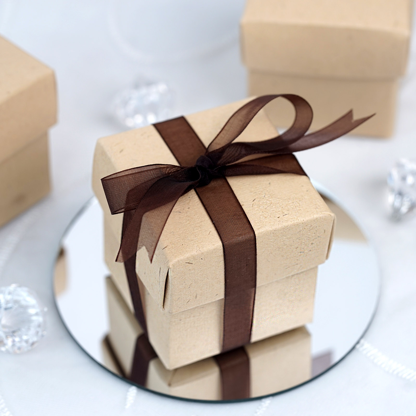 "Wedding Gift Boxes: 100 2x2"" With LIDS Wedding Favors Gift BOXES With"