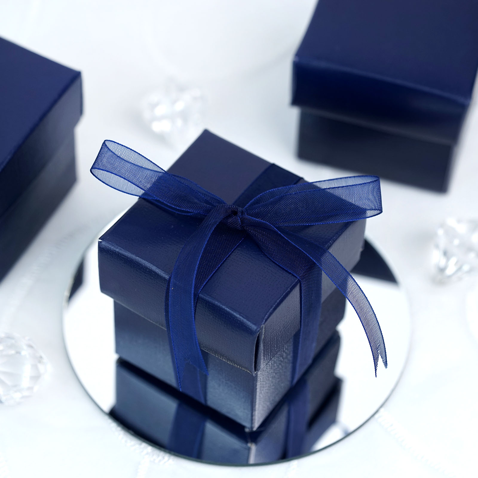 100 2x2 Quot With Lids Wedding Favors Gift Boxes With