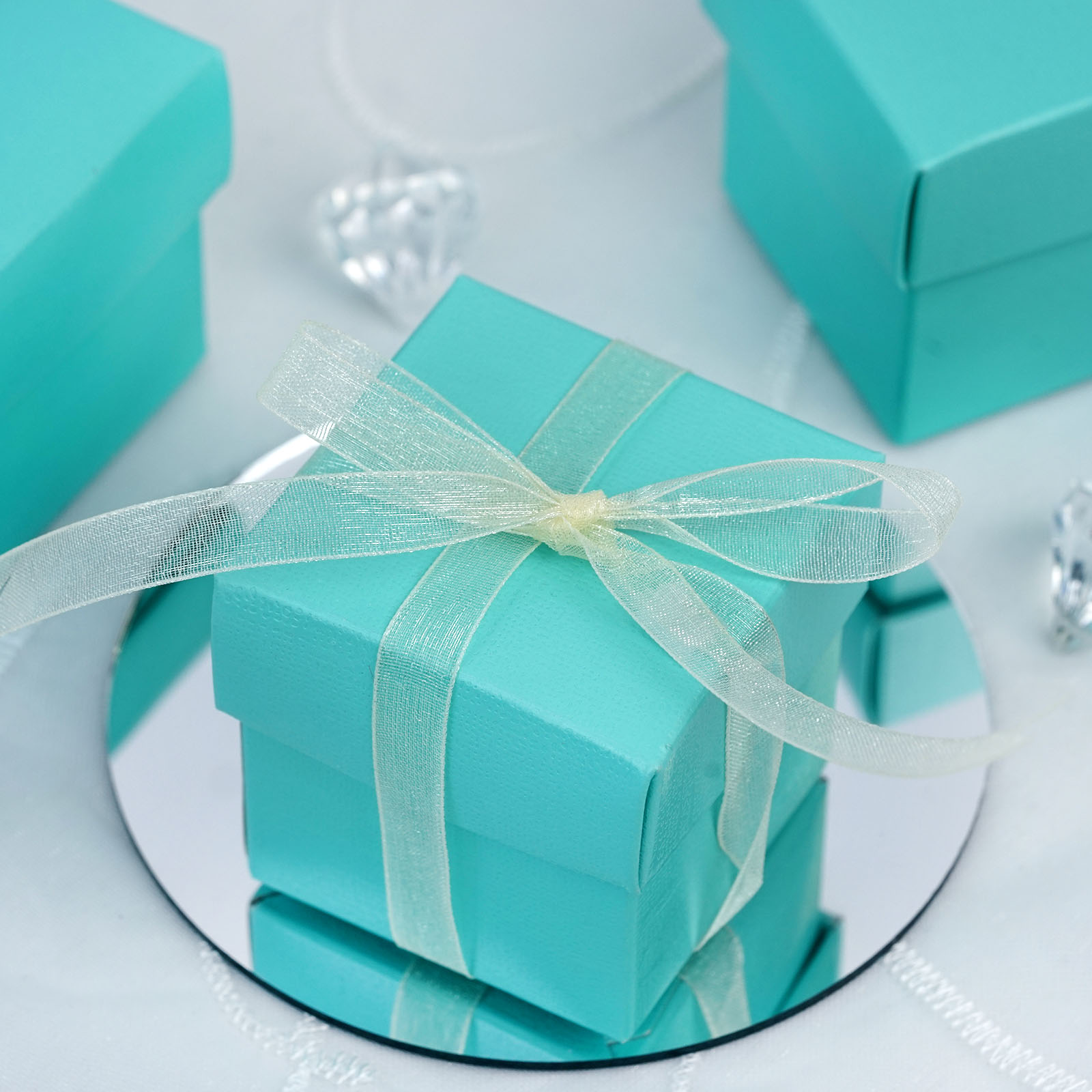 """Wedding Favor Gift Boxes: 100 2x2"""" With LIDS Wedding Favors Gift BOXES With"""