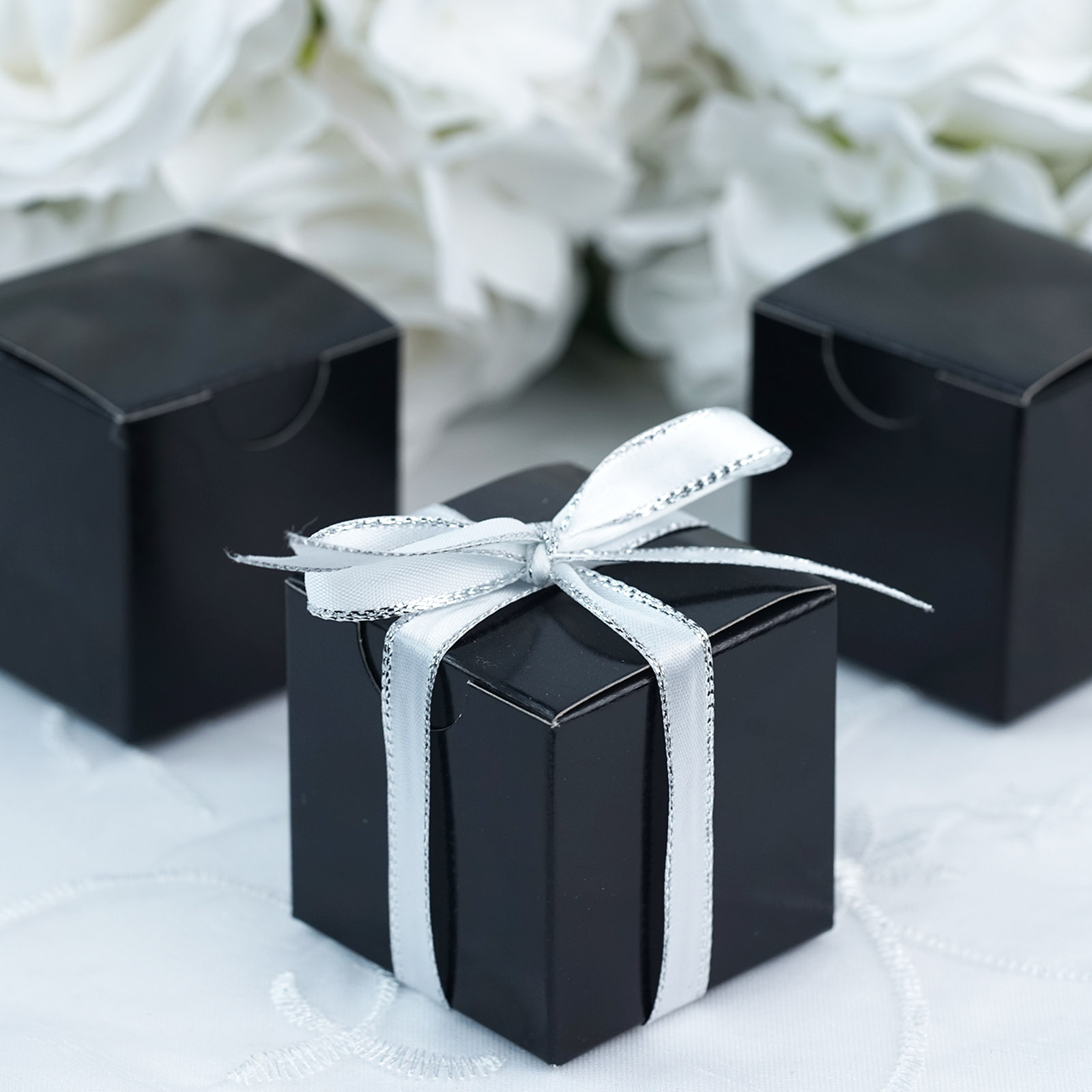 200 2x2x2 Wedding Favors Boxes Gift Packages Party Supplies