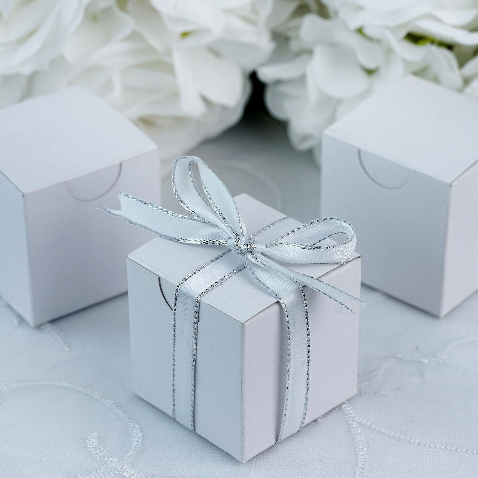 100 2x2x2 Wedding Favors Boxes Gift Packages Party Supplies