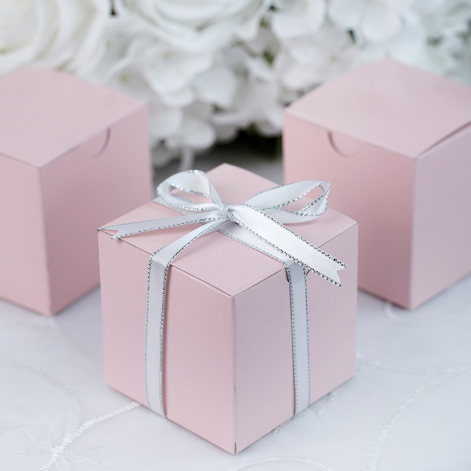 400 Pcs 3x3x3 Inches Wedding Favor Gift Boxes Party Wholesale Free