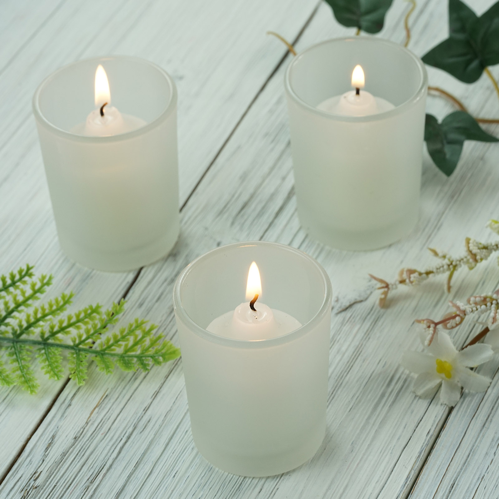 Candle Holders Frosted Votive Wedding Favor Centerpiece Decorations