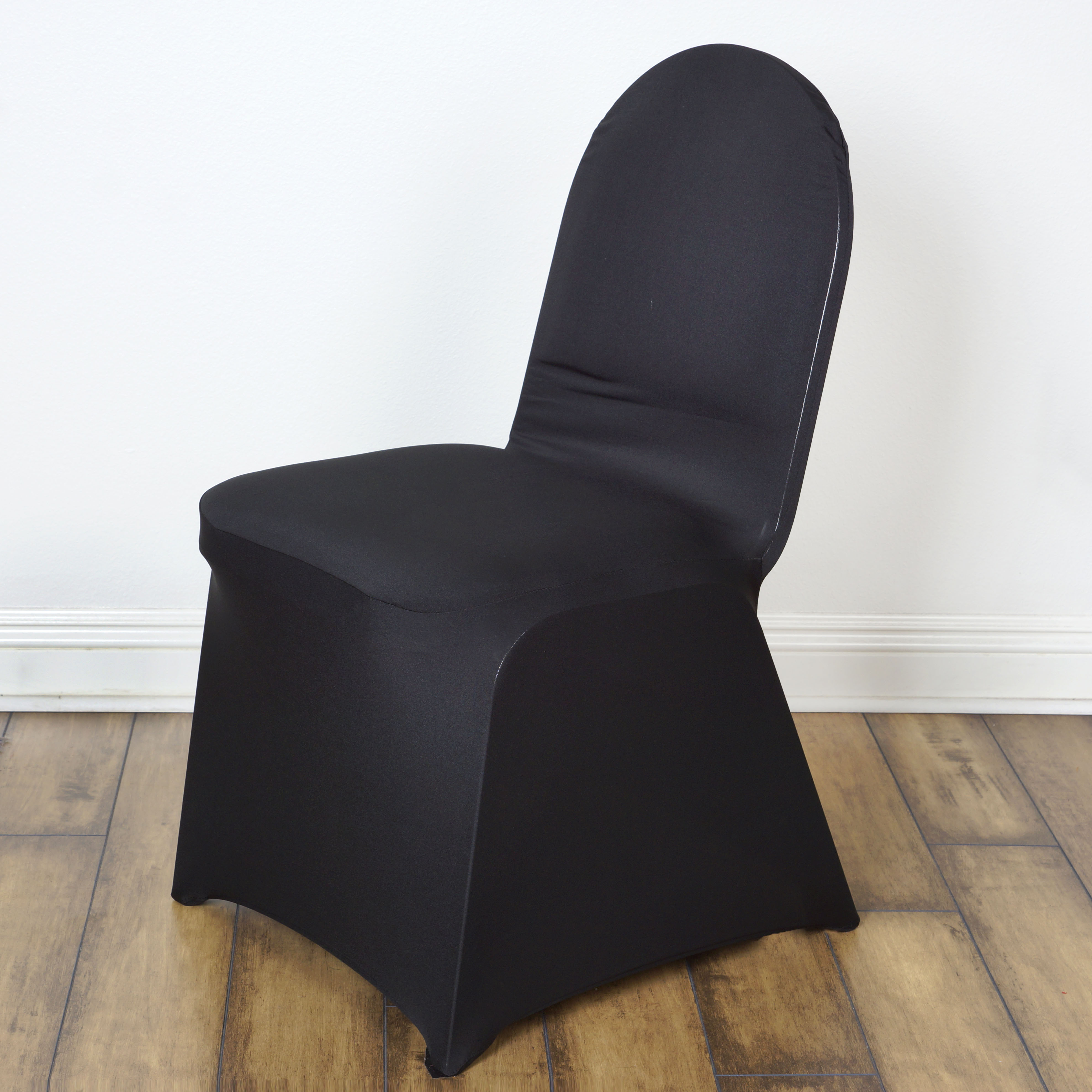 spandex stretchable chair covers wedding reception party decorations supply sale ebay. Black Bedroom Furniture Sets. Home Design Ideas