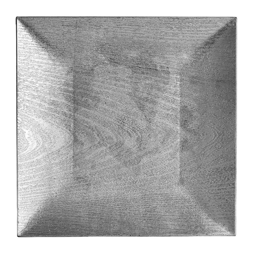 Squarechargerplates24pcs12034wood