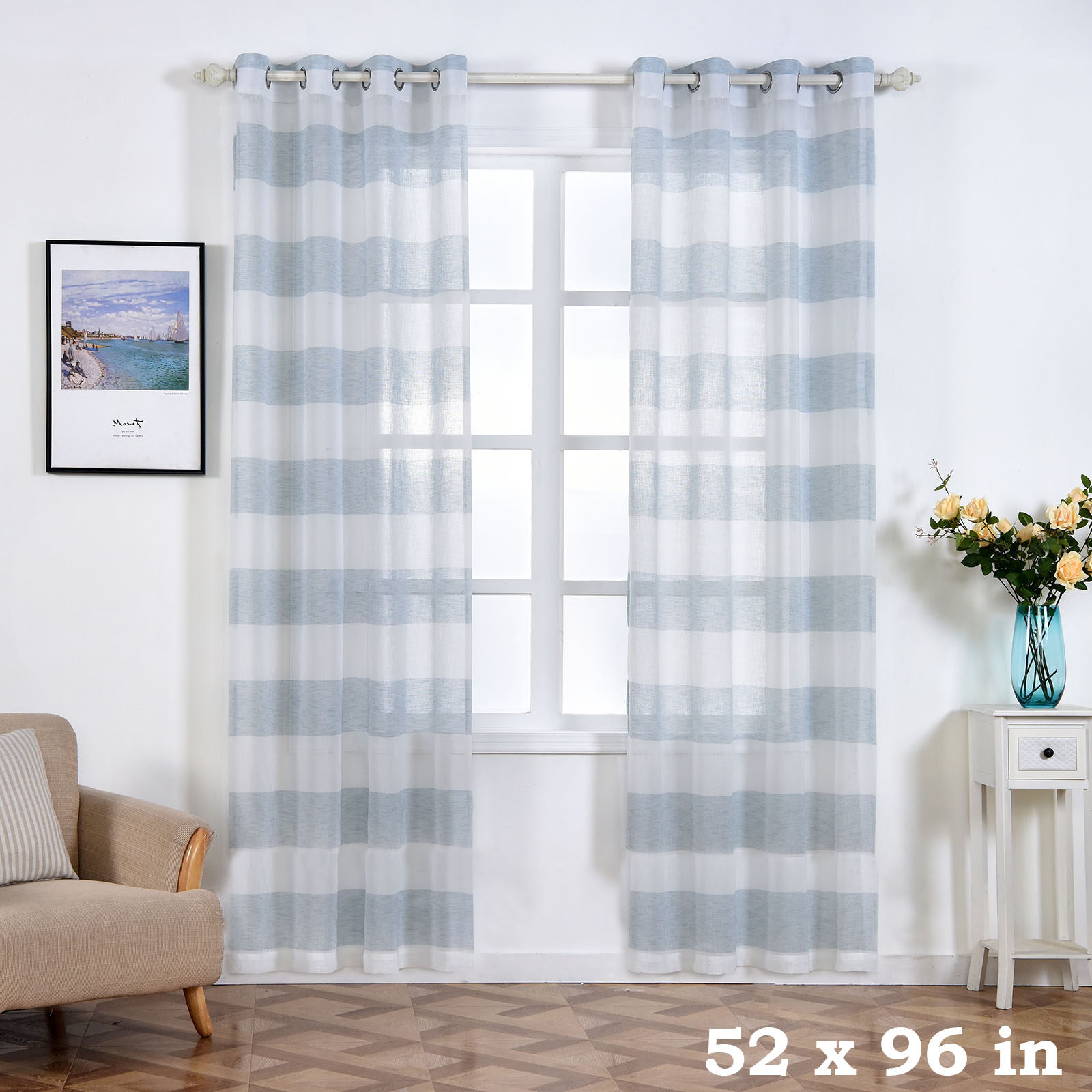 faux gulfport taupe panels linen inch com curtain weave l panel amazon tradition contains grommet blackout window curtains one package royal long dp